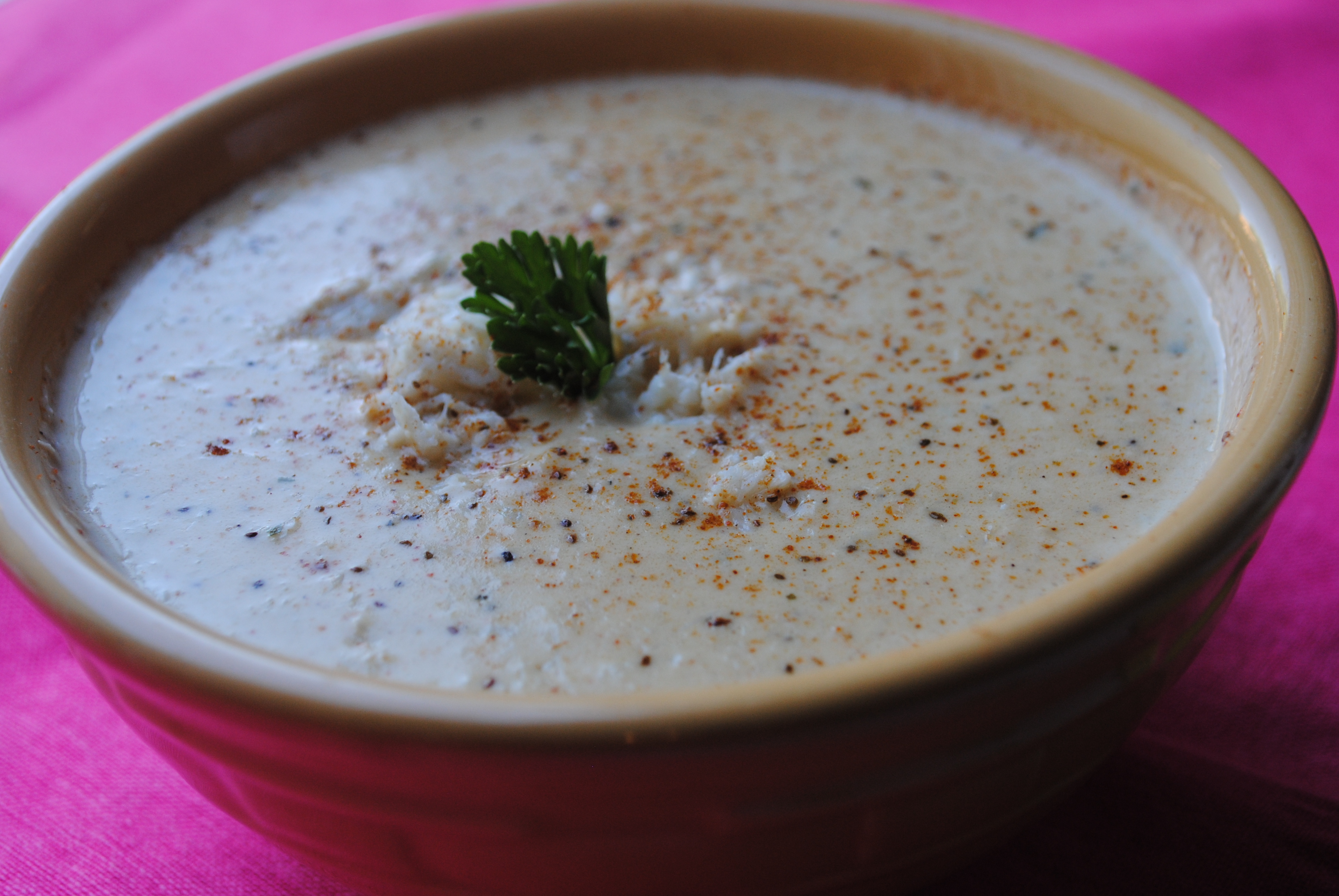 French Dip Sand and Cream of Crab Soup 066